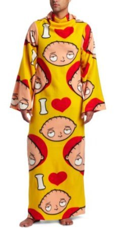 Stewie Family Guy Snuggie - Blanket with Arms, Stewie Robe, funny snuggies, funny snuggie, new snuggies, unusual snuggie,
