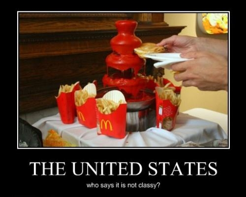 funny ketchup fountain picture