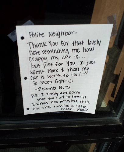 funny notes people leave