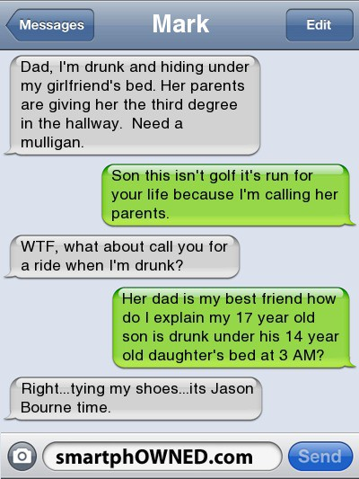 Click here for more funny texts