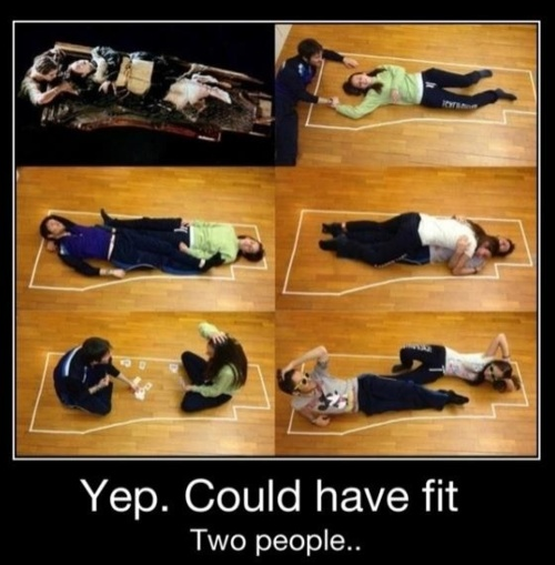 funny yes they would have fit 2 on board titanic funny photos