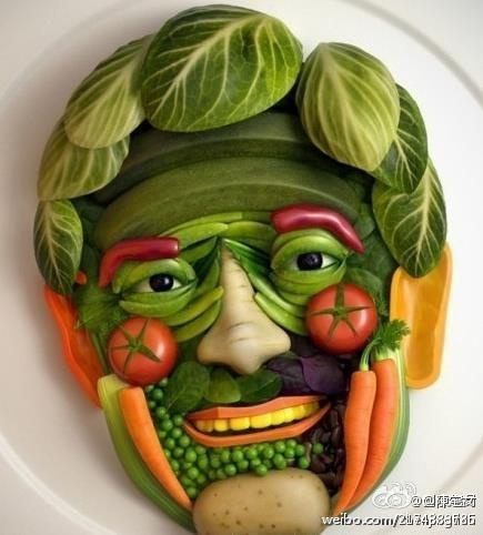 funny creative vegetable picture photo