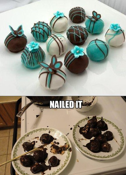 funny chocolate candy fail - nailed it