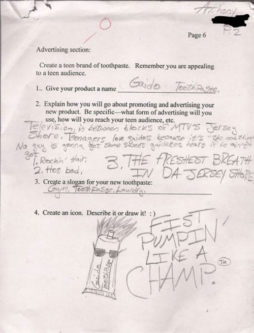 Funny test answers funny exam answers