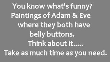 funny adam and eve quote saying
