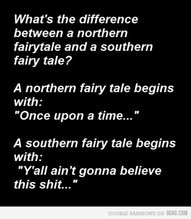funny southern northern quote