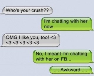 Funny who is your crush text message