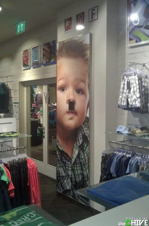 funny hitler child ad placement fail