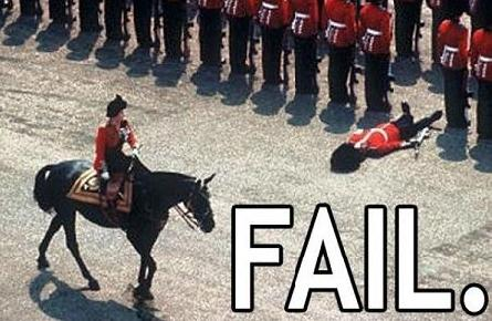funny british fainting fail picture