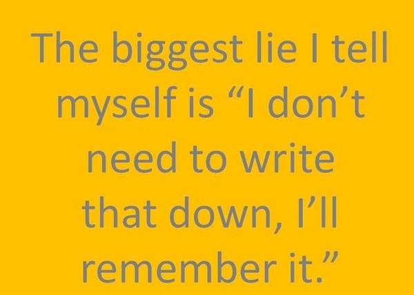 Funny Quote The Biggest Lie I Tell Myself Is I Donu0027t Need To Write