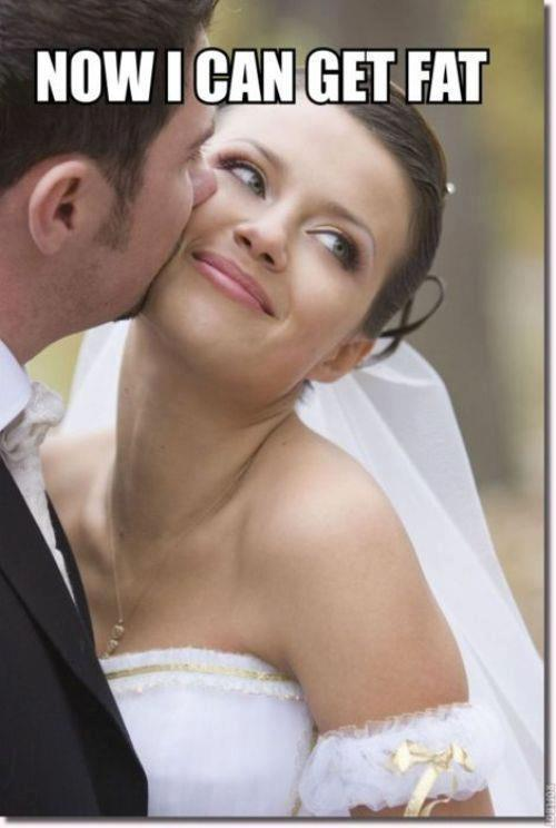 funny now i can get fat bride photo caption picture