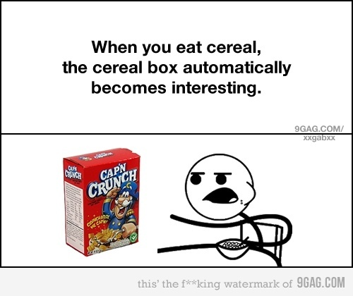 funny cereal box gets very interesting cartoon funny comic
