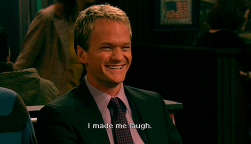 funny barney I make me laugh photo how i met your mother