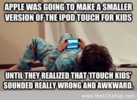 funny itouch kids caption picture