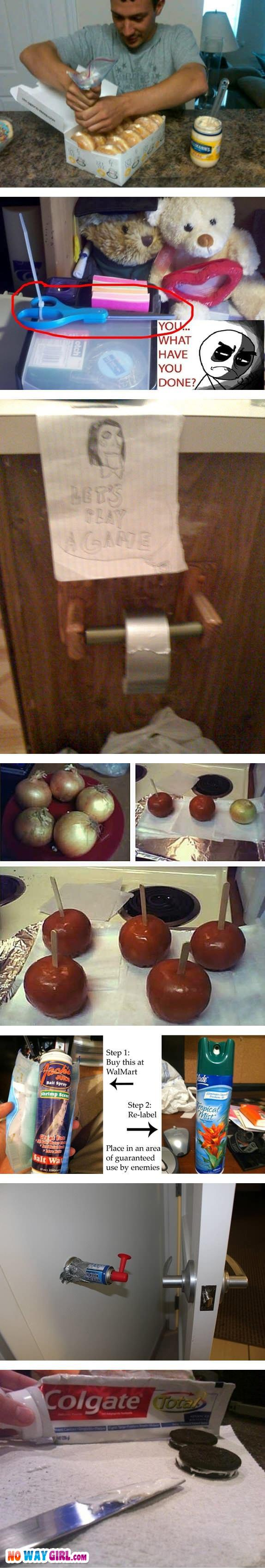 funny pranks onions apples