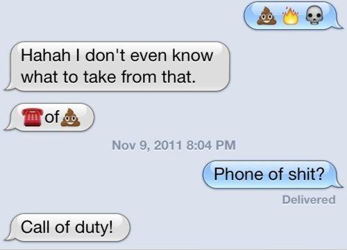 funny status phone of sh*t no call of duty
