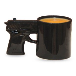 funny gun coffee mug funny gifts funny items funny gadgets