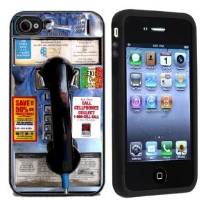 Funny Rubber Payphone Iphone Cover Cases Cool Case
