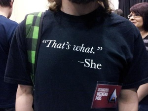 funny that's what she said t-shirt t shirt quote