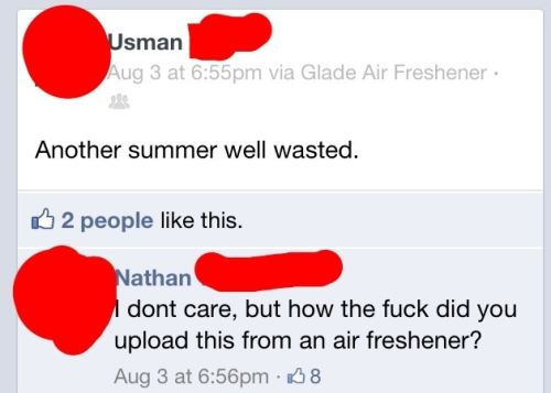 how did you load this from an air freshener funny text message