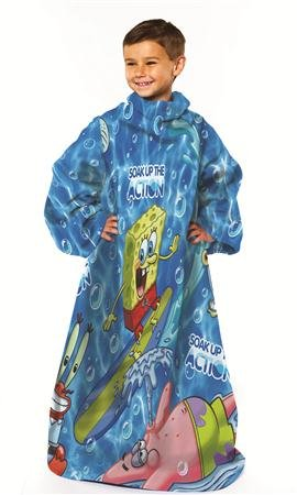 funny snuggies, funny snuggie, new snuggies, spongebob,Funny Spongebob Snuggie - Blanket With Arms