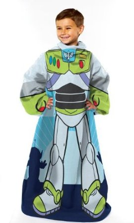 funny snuggies, buzz lightyear snuggies, disney snuggies, disney blanket with arms,buzz lightyear robe,