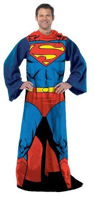 funny snuggies, superman snuggie, super hero snuggie,