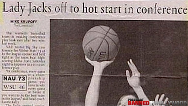funny headlines news stories lady jacks off to hot start