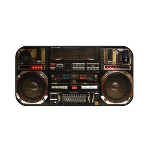 Funny Boombox Ghetto Blaster IPhone Case Cover
