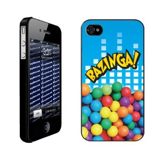 Funny The Big Bang Theory Bazinga IPhone Case Cover