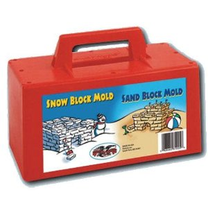 snow toys, snow block maker, snow fort tools, fun with snow, igloo maker,