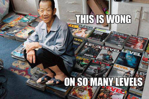 funny caption picture this is wong on so many levels