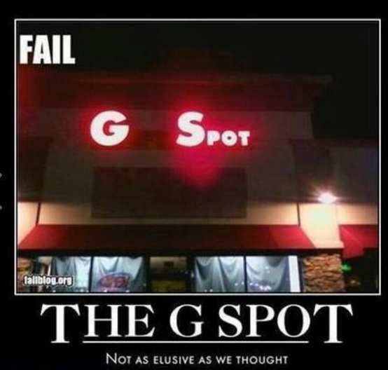 funny g spot fail photo
