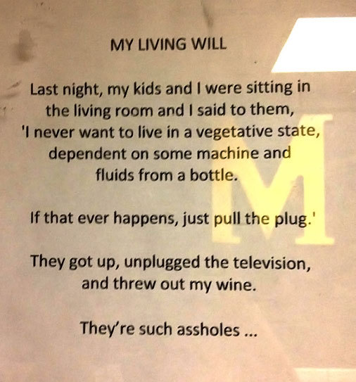 funny quotes vegetative state unplugged tv and threw out my wine