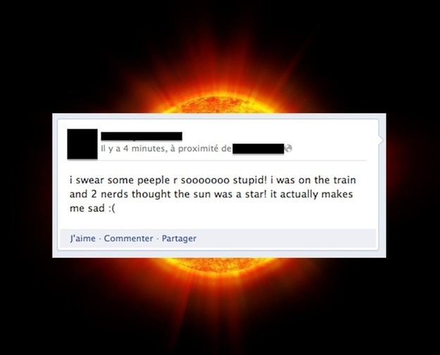 funny fail two people who thought sun was a star so sad