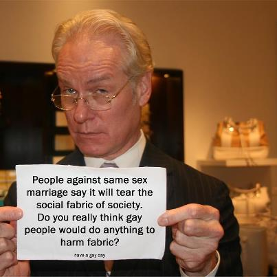funny photo tim gunn gay people would never harm fabric fabric