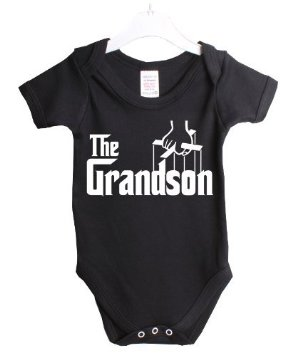 funny baby onesie the grandson from the Godfather movie