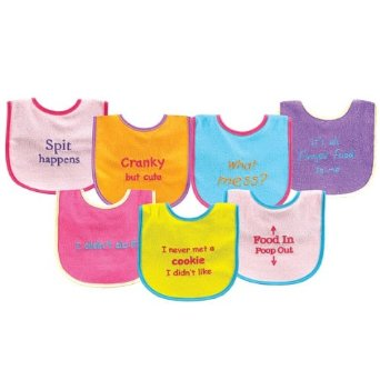 funny baby bibs with funny sayings