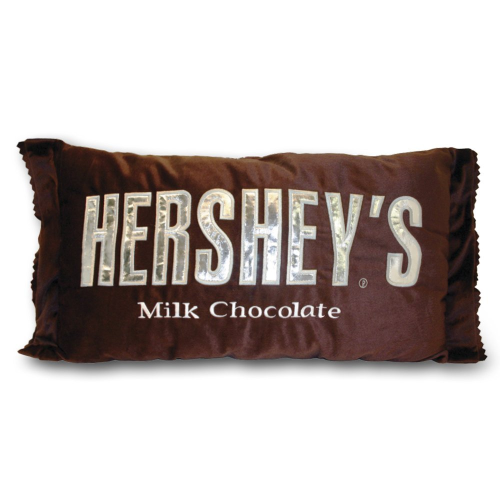 funy hershey candy bar chocolate pillow