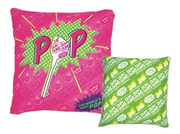funny dum dums lollipop candy pillow