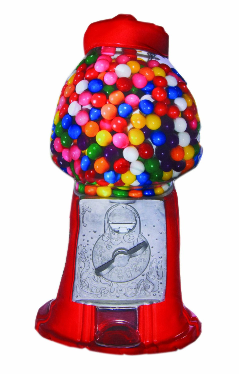 funny bubble gum machine candy pillow throw