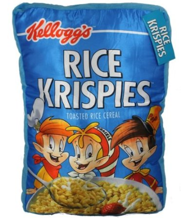 funny rice krispies pillow cereal kelloggs