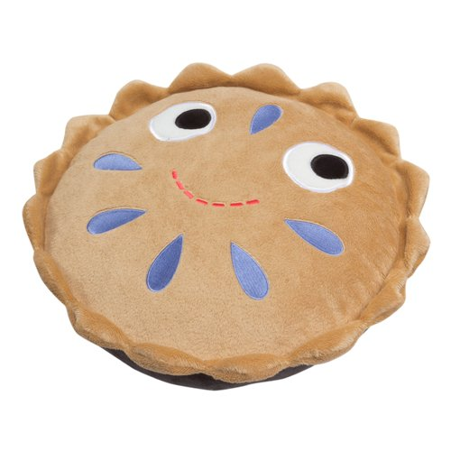 funny blueberry pie candy pillow