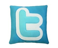 funny twitter social share throw pillow