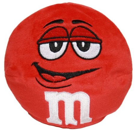 funny m&M mm m and m candy chocolate pillow