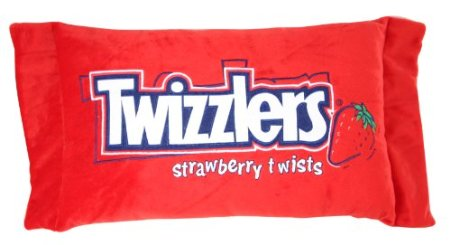 funy twizzlers candy pillow licorice