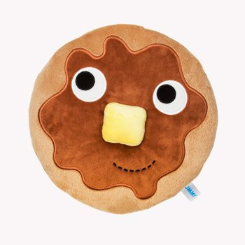 funny pancake butter kinderbot pillow