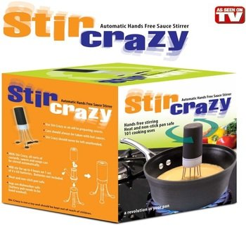 stir crazy automatic pot stirrer as seen on tv, automatic stirrer,