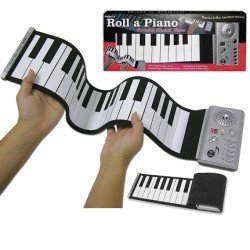 roll a piano as seen on tv portable piano roll out piano