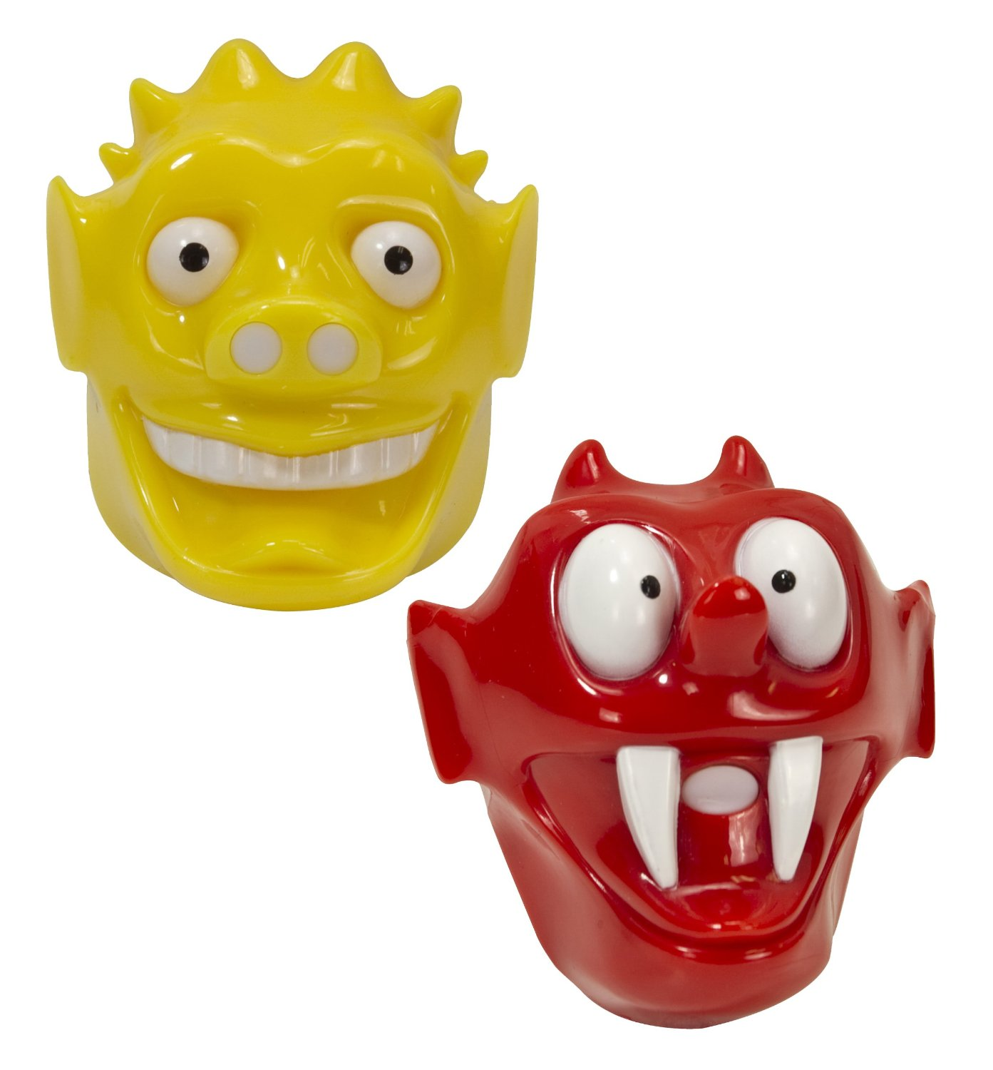 funny ketchup and mustard tops faces